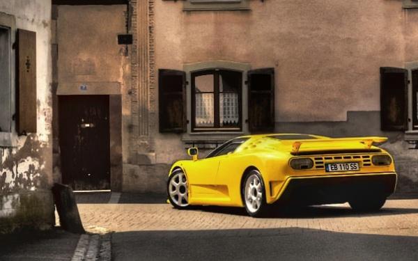 Bugatti Veyron EB110 SS